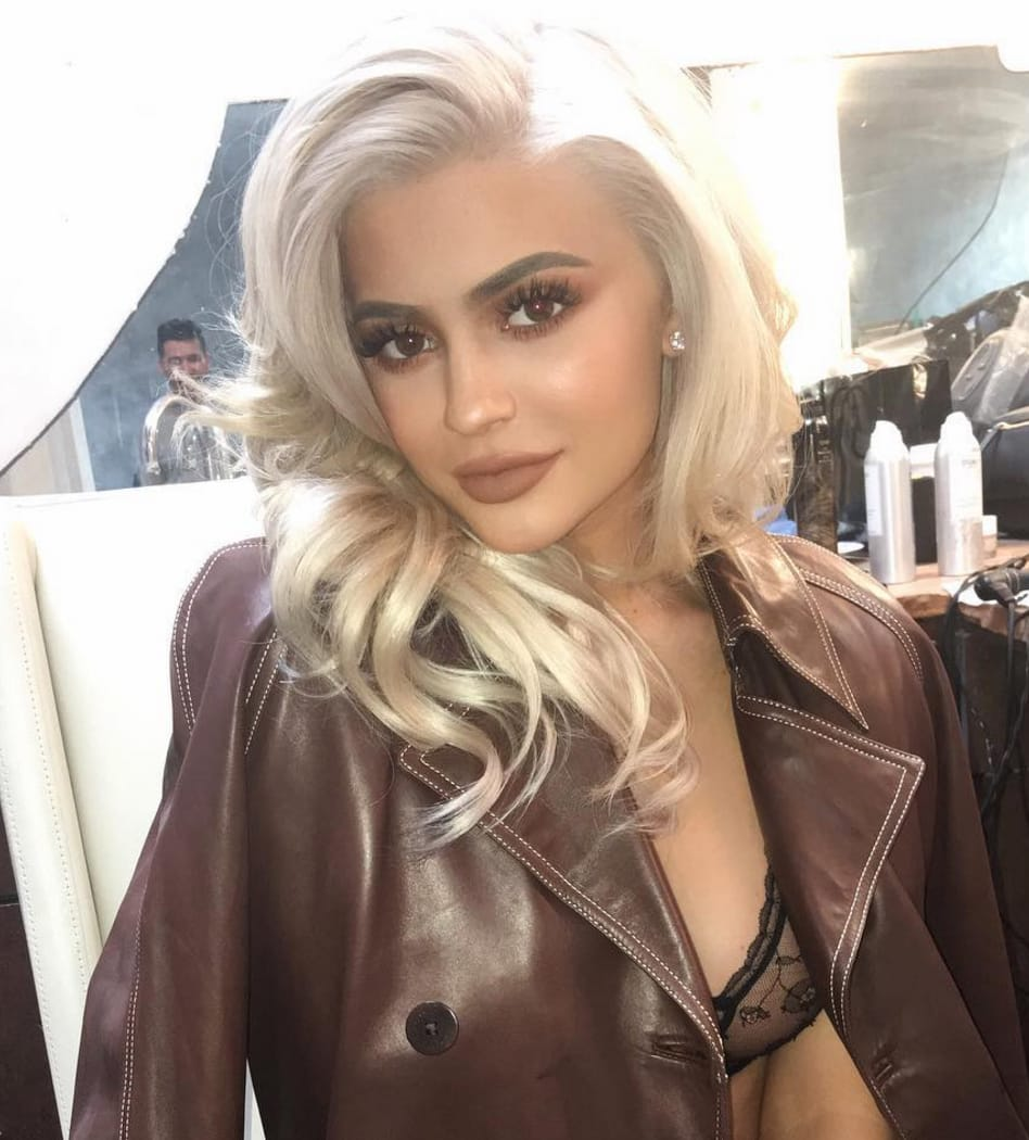 Kylie Jenner Nippel In Dessous foto 11